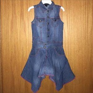 🌺Childrens Place denim vest shirtdress